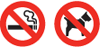 Dogs and/or Smoking are not permitted at the park